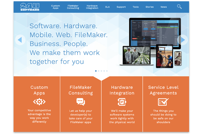We have a new website - Preview Image