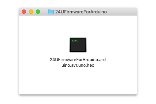 24U's Firmware for Arduino