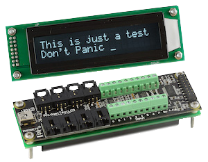 Display Text on LCD Display