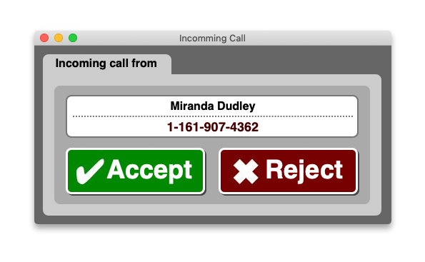 Get Notified About a Call