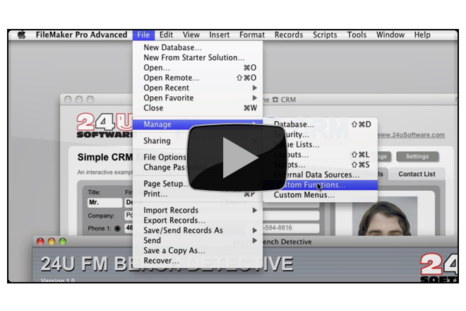 How to implement 24U FM Bench Detective - Preview Image